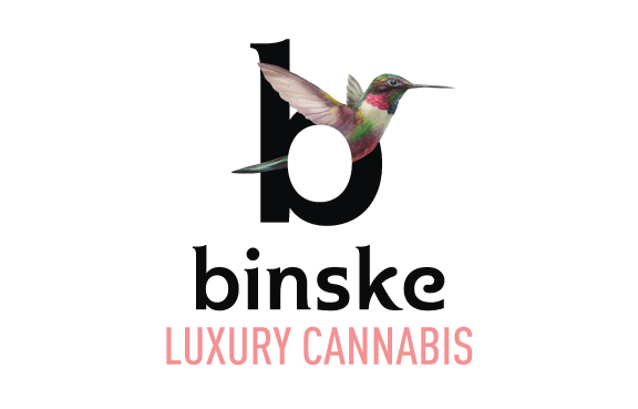 binske luxury cannabis logo